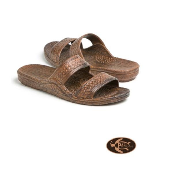 d0fd4593fd Pali Hawaii Adult Classic Jandal Sandals For Unisex Color - Dark Brown