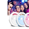 The Ring Light Selfie LED Camera Light for Iphone, Ipad, Galaxy