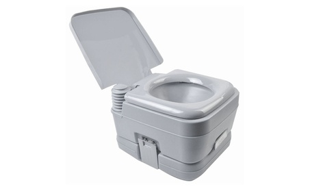 10L portable removable flushing toilet outdoor camping potty 817f16f3-3f45-46aa-98fd-9614549cf0aa