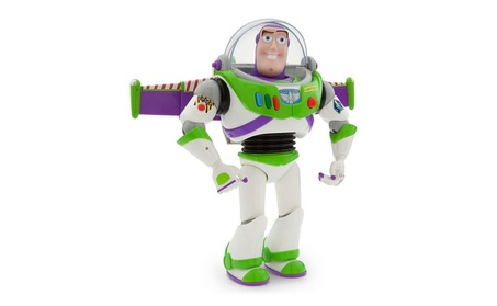 Disney Pixar Talking Buzz Lightyear Toy Story Space Ranger Figure 2fe662b1-71fb-4bfd-8fa2-0381ff0a9597