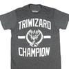 Harry Potter Triwizard Tournament Mens Charcoal Heather T-shirt