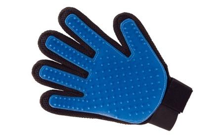 Top Quality Pet De-Shedding Glove Massage Tool With Five Finger Design 38dc3bec-b671-4c3b-9d68-3171fde01271