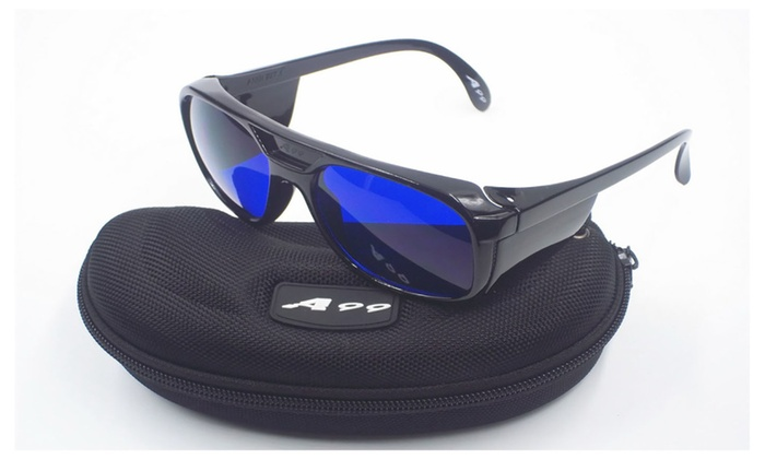 A99 Golf Ball Finder Glasses with Black Frame E-1