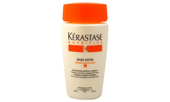 Nutritive bain satin 1 shampoo groupon for Kerastase bain miroir shine revealing shampoo