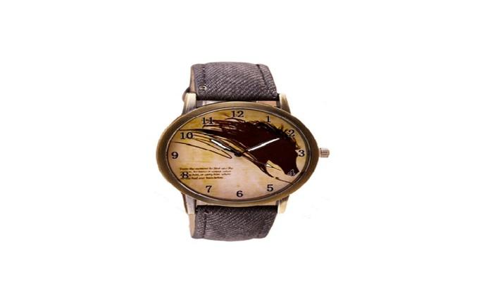 Zeals Deal: Painting Horse Watch Quartz Wrist Watches