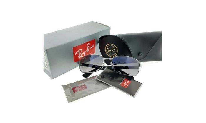 0334bcfd38d38 Ray Ban RB3478 004 78 Gunmetal   Blue Gradient Polarized 60mm Sunglass