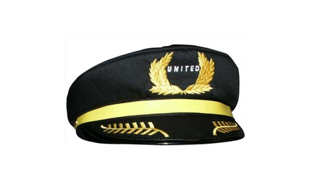 Daron Worldwide Trading HT004 United Airlines Pilot Hat 779971b7-3372-4d79-884f-afd4ccf1bb6b