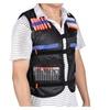 Tactical Vest Kids Toy Gun Jacket Foam Bullet Holder For Nerf Black