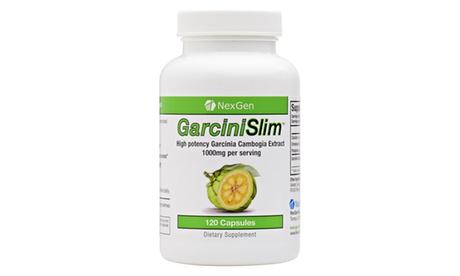 Nexgen Garcinislim. Organic HCA Garcinia Cambogia Diet Pills. 120 Capsules.