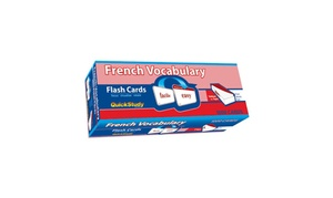 BarCharts 9781423221173 French Vocabulary Flash Cards