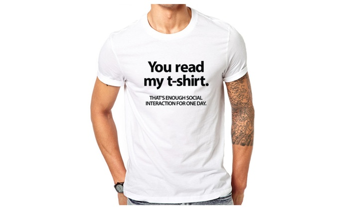 You Read My Funny T-shirt