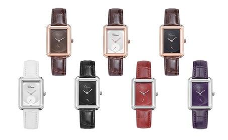Popular Quartz Waterproof Leather Ladies Fashion Dress Watch 7ca2f28a-fcda-4d64-9c0f-719436fd92a2