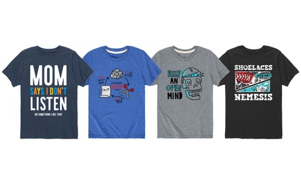 Boys One Hundred Percent Awesome Graphic Tees