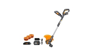 Up To 14 Off On Worx 20v Gt 2 0 String Trimme Groupon Goods