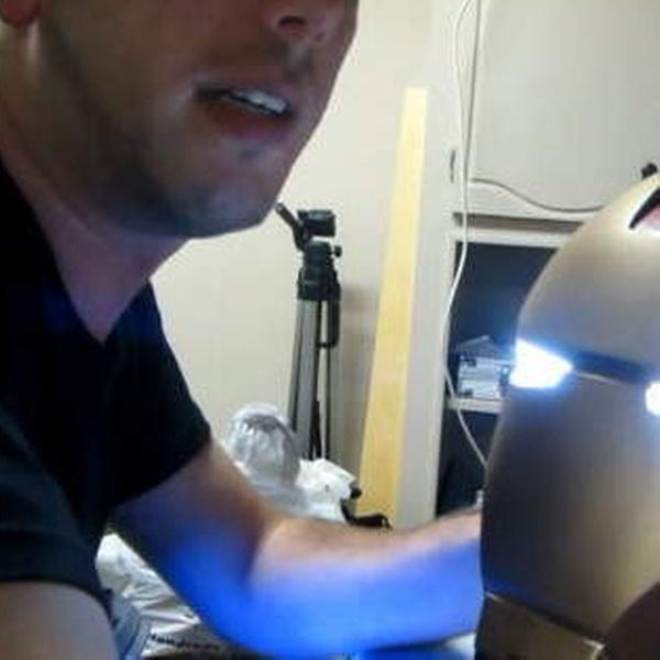 DIY 1:1 LED Light Eyes For Batman Ironman Black Panther Helmet Mask Fitting New
