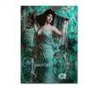 Color Bakery 'Art Nouveau Zodiac Aquarius' Canvas Art