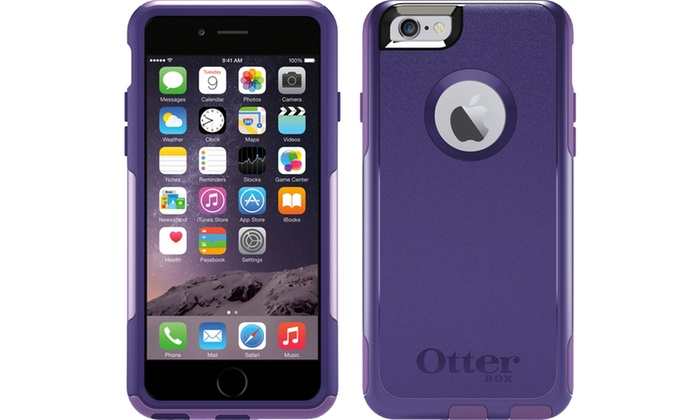 new concept 6c102 491ed OtterBox Commuter Case for iPhone 6 Plus/6S Plus