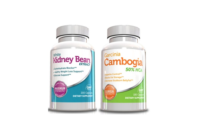 Buy It Now : Weight Loss Pills - Garcinia Cambogia & White Kidney Bean Extract