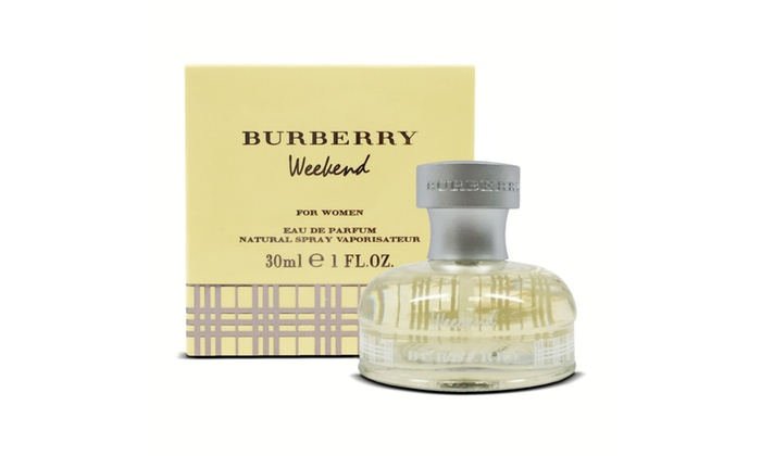 Up To 54 Off On Burberry Weekend Edp Fragrance Groupon Goods