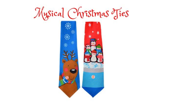 Musical Christmas Ties