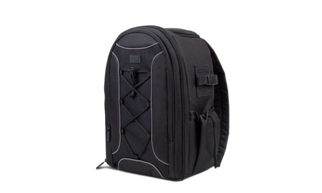 USA GEAR S Series S16 SLR Camera Backpack with Velcro Storage Dividers 7f0716b0-d435-4904-a580-ac72fdcf7d7c