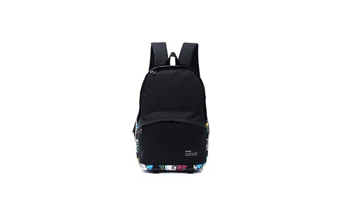 Unisex Backpack Causal Style Lightweight Graffiti Canvas Bag