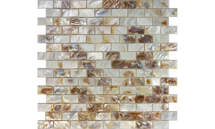 Brick Mosaic Tile Kitchen
