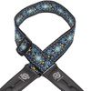 Lock-It Straps 2-Inch Vintage Blue Chill Strap W/Locking Ends