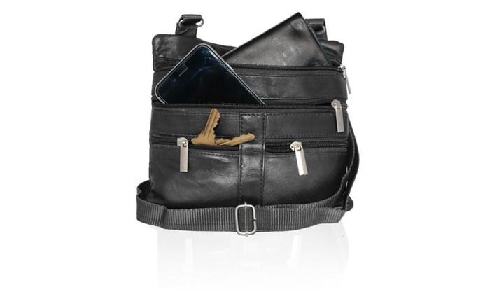 Genuine Leather Fashion CrossBody Bag