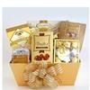 California Delicious Golden Gourmet Treats Holiday Gift Basket