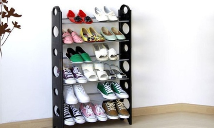 18/50 Pairs Shoe Rack Storage Organizer