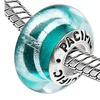 Sterling Silver 'Weekend Vacation' Murano Style Glass Bead
