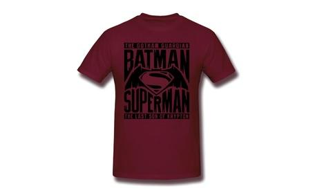 Batman Vs Superman Title Fight Burgundy 779fe9a9-d9b9-4f14-9375-33fd1b6a25f3