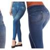 Top Quality Premium Women's Denim Style Shaper Leggings Silmming Pant