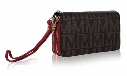 b810620e3454 Shop Groupon MKF Collection M Signature Wallets Wristlet Holiday Sale by Mia  K Farrow