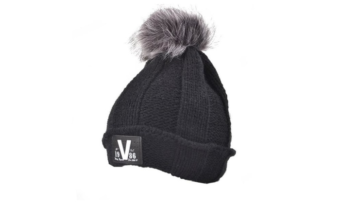 Women's Casual Insulated No Brim Pinched Crown Woollen Hat