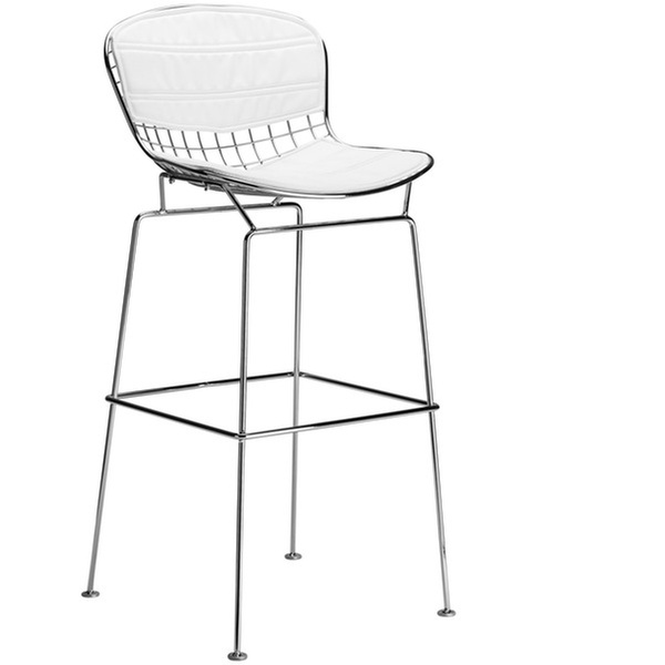 Fantastic Poly Bark Morph Bar Stool In White Bralicious Painted Fabric Chair Ideas Braliciousco