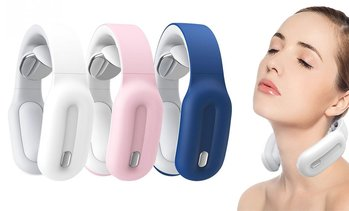 Neck Massager with Heat, Intelligent Wireless Portable 4D Neck Massage Equipment
