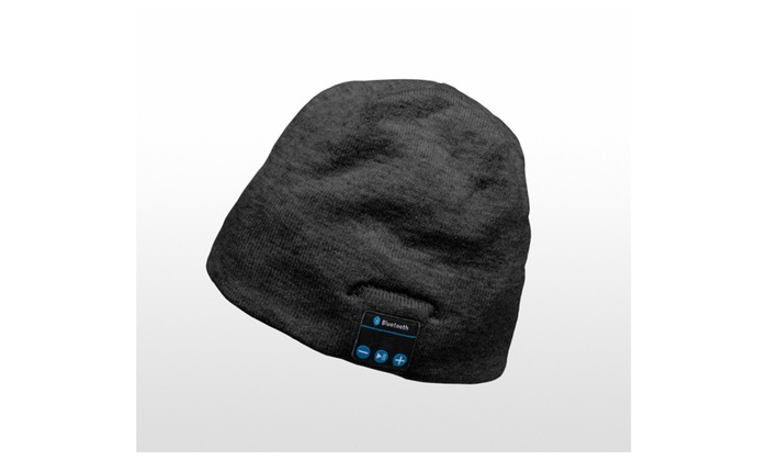 Beanie Hat Wireless Bluetooth Smart Headset Headphone Speaker Cap Mic