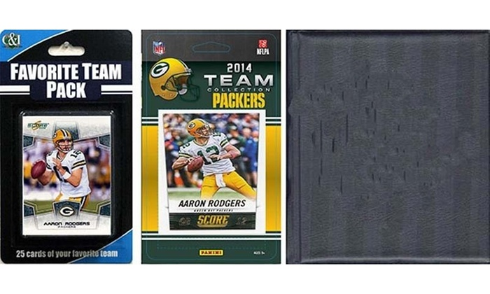 Candicollectables 2014packerstsc Nfl Green Bay Packers Licensed 2014 Score Team Groupon