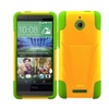 Insten Hard Hybrid Case With Stand For Htc Desire 510 Yellow/green
