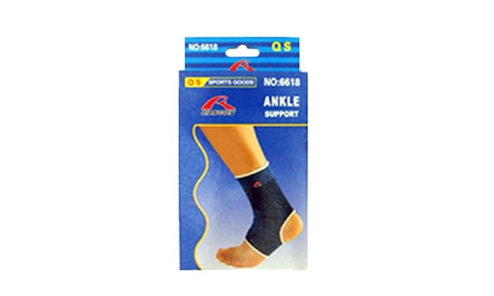 Ankle Support Brace High Grade Nylon, 2 PC