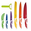 7 Piece Kitchen Knife Set Stainless Steel Knives