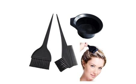 Salon Hair Coloring Dyeing Kit Color Dye Brush Comb Mixing Bowl Tint T db56d827-814e-403f-8a42-7431965d970a
