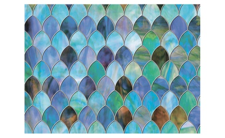 Brewster Home Fashions PF0702 Peacock Window Premium Film - 24 in. b025fece-4c97-4c5e-ab0c-909aae67b8d1