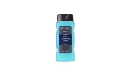 Retinol Men's 3-in-1 Cleansing Wash for Hair, Body & Face 7e28cc56-c1cb-46e8-9b84-24382cdb1a01