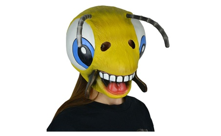 Halloween Costume Party Latex Animal Mask Cute Bee Mask 7d41181e-d4b0-4ed1-ab87-4eb5d48fe195