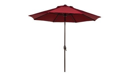 Abba Patio 9' Patio Umbrella Outdoor Table Market Umbrella-RED a1a9f1d6-1e10-41f3-b215-cbc332bb965e