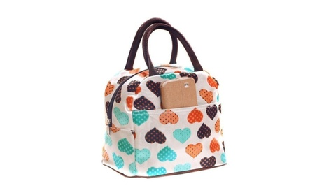 Portable Insulated Thermal Cooler Bento Lunch Box Tote Picnic Storage 646c9fcd-30b0-4897-bcff-16574a5c4033