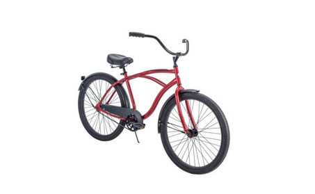 "Huffy 26"" Cranbrook Mens Cruiser Bike with Perfect Fit Frame e5cfd073-343f-4876-9d2e-ddb7b86bab98"
